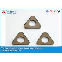 Quality P20 P30 Cemented Carbide Inserts shim , Cutting Tool Inserts for sale