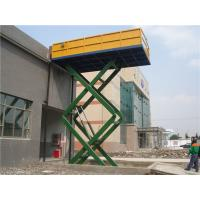 China 8m Electrical Driving 2300Kg Hydraulic Lift Platform Automotive Car Scissor Lift on sale