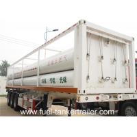 SHENGRUN 6 Tube CNG Tank Trailer with 25.02m3 Total Cylinder Volume Manufactures