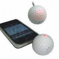 LED Indicator Portable Golf Ball-shaped Speaker for Apple