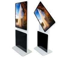 Rotatable LCD Touch Screen Kiosk Free Standing With Plug And Play Function Manufactures