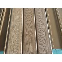 148x21 3D Embossing wpc wall panel wpc composite wall cladding Manufactures