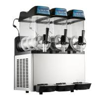 Single Compressor Ice Slush Machine Air Cooling With Three Bowl Manufactures