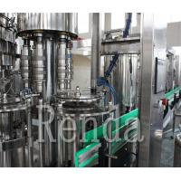 Coca Cola Carbonated Drink Filling Machine  Washing Filling Capping Machine High Speed Beverage Filling Machine Manufactures