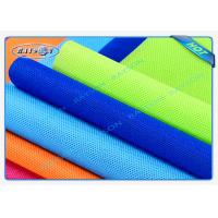 Green / Blue Package Material Polypropylene Non Woven Fabric Spunbond 80gsm Various Colors Manufactures