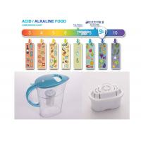 Handle Remove Chlorine Gallon Water Filter Pitcher Filtration Sytem PH 9.5 Manufactures