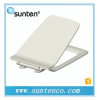 China Eco-Friendly Feature Soft Close Ultra Slim Square Toilet Seat Covers on sale