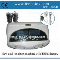 Dual ion foot detox ion machine with FIR belt new spa with TENS massage therapy Manufactures