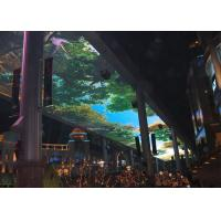 16 Bits Colors Creative Ceiling LED Screen Hanging Installation High Contrast Ratio Manufactures