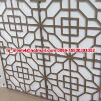 Quality Hot Sale laser cut metal fence panel for sale