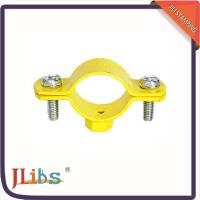 Cast Iron Hanging Pipe Clamps , Industrial Pipe Clamp Bracket ISO9001 Certification Manufactures