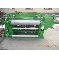 Stainless Steel Welded Wire Mesh Machine For Rolled Wire Mesh Green Color Manufactures