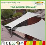 waterproof sun shade sail,polyester fabric sun sail shade Manufactures
