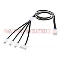 10000 Times Durability Flat Usb Cable Sync Data Charging Cable 12 Months Warranty Manufactures