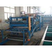 EPS Sandwich Panel Roll Forming Machinery , Sheet Metal Roll Forming Machines Manufactures