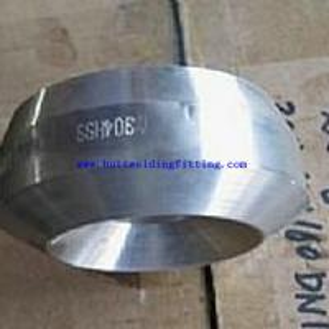 China Stainless Steel Butt Welded Pipe Fittings Socket Weld 3000Lb Weldolet on sale