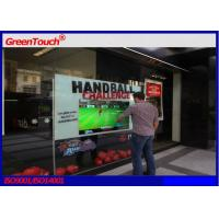 Capacitive 65 inch interactive touch foil film for projection glass display Manufactures