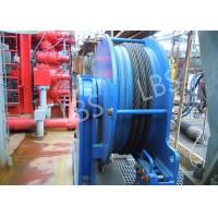 Stainless Steel / Carbon Steel Offshore Winch Small Size Manual Driven Manufactures
