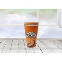 Quality 8/10/12/16 Oz Disposable Paper Cups Customized Logo For Hot Water Drink for sale