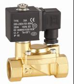 """Automotive 3/8""""Solenoid Valve Electric Water Valve Pilot Operated DFD Series Manufactures"""