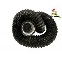 Heat Resistant Ventilation Flexible Ducting PVC Aluminum Laminated With Polyester Manufactures