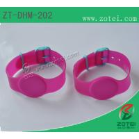 RFID Soft PVC wristband tag (Watch Band Clasps, Product model: ZT-DHM-202) Manufactures