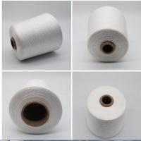 China Spun Polyester Yarn Polyester Raw Material For Knitting Or Weaving Made Of Staple Fiber on sale