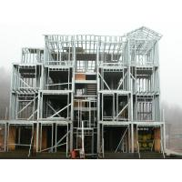 Rapid Site Construction Structural Steel Fabrications Warehouse In Precise Calculation / Pre-assembly Manufactures