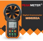 Hand Held Environmental Meter Air Volume Wind Velocity Meter Data Uploading Functions Manufactures