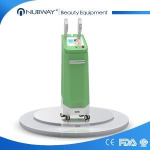 vertical 640-1200nm opt SHR & SSR shr laser hair removal machine Manufactures