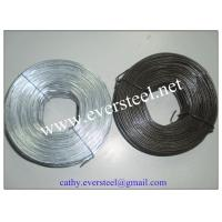 China 3.5lb coil 50lb cartons Black annealed rebar tie wire on sale