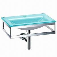 Buy cheap Glass Vanity Bathroom Cabinet, Measures 800 x 520mm from wholesalers