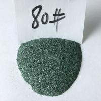 China Abrasive tools making green silicon carbide/carborundum/GC grains 80# on sale