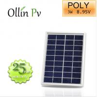 Crystalline PV Modules Polycrystalline Solar Panel Anodized Aluminium Alloy Frame Manufactures