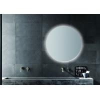 Round Frameless LED Sensor Bathroom Mirror Size Can Be Customized 5mm Manufactures