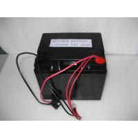 China Lithium Iron Phosphate Batteries 24V-20Ah with charger for medical computerized trolley on sale