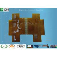 High Precision Gold finger 1 OZ Copper 0.3mm thickness 2 layer Flexible Printed Circuit Manufactures