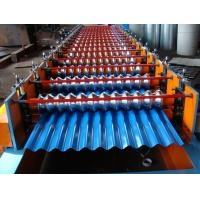 Manual / hydraulic decoiler corrugated roof panel rool forming / sheet forming machine Manufactures