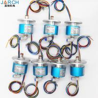 Military Electro Pneumatic Rotary Union 6 Rings 5A Slip Rings Connect With Air Pipe 10mm Manufactures