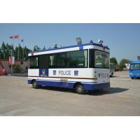 China Public Police Office Special Purpose Vehicles , Mobile Patrolling Police Command Vehicles on sale