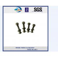 Stainless Steel / Carbon Steel Railway Bolt Hardware And Fasteners ASTM F1852 Manufactures