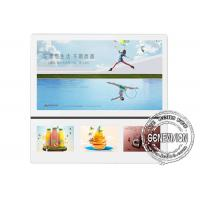 Wifi Free Wall Mount Flat Screen Tv Lcd Monitor USB Media Player For Advertising Manufactures
