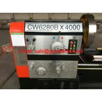 China CW6280 Gap bed Universal Lathe Machine on sale