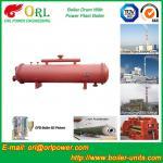 Cement industry steam boiler mud drum TUV Manufactures