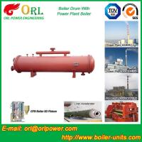 Single Gas Boiler Mud Drum Natural Circulation For Textile Industry Manufactures