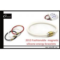 Pure Titanium and Silicone Power Balance Bracelet Band for Reducing Inflammation Manufactures