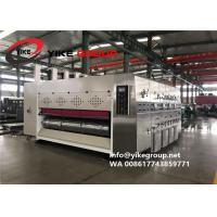 Automatic Corrugated Carton Box Machine 200pcs/min Ink Printing Die Cutting With Slotting Machine Manufactures