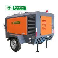 7.5 m³/min Portable Screw Air Compressor 2400 r/min For Road Construction Manufactures
