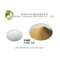 Chinese manufacturer supply Ferulic acid 98%, pure ingredient, CAS No.: 1135-24-6 Manufactures