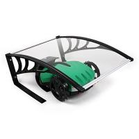China Unique Robot Mower Garage , Glass Door Canopy Awning Polycarbonate Sheet on sale
